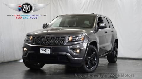 2015 Jeep Grand Cherokee for sale at ZONE MOTORS in Addison IL