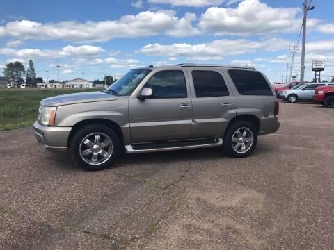 2003 Cadillac Escalade for sale at BLAESER AUTO LLC in Chippewa Falls WI