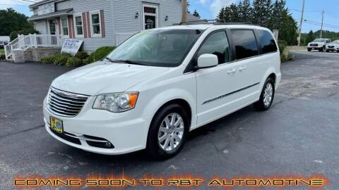 2013 Chrysler Town and Country for sale at RBT Automotive LLC in Perry OH