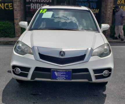 2012 Acura RDX for sale at Washington Motor Company in Washington NC