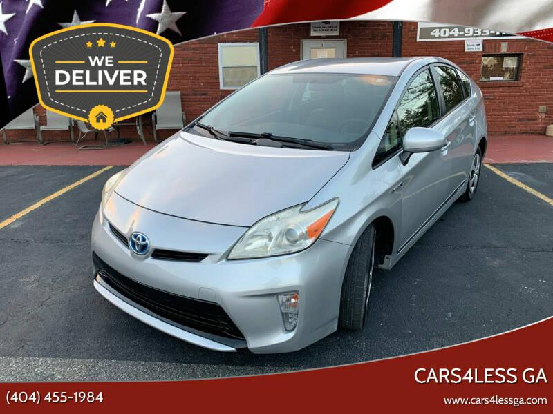 2012 Toyota Prius for sale at Cars4Less GA in Alpharetta GA