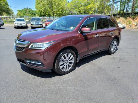 2014 Acura MDX for sale at GA Auto IMPORTS  LLC in Buford GA