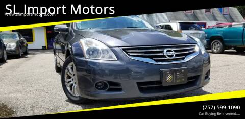 2010 Nissan Altima for sale at SL Import Motors in Newport News VA
