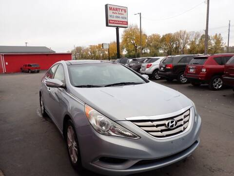 2012 Hyundai Sonata for sale at Marty's Auto Sales in Savage MN
