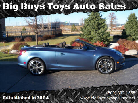 2016 Buick Cascada for sale at Big Boys Toys Auto Sales in Spokane Valley WA