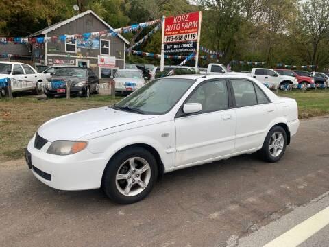 2003 Mazda Protege for sale at Korz Auto Farm in Kansas City KS