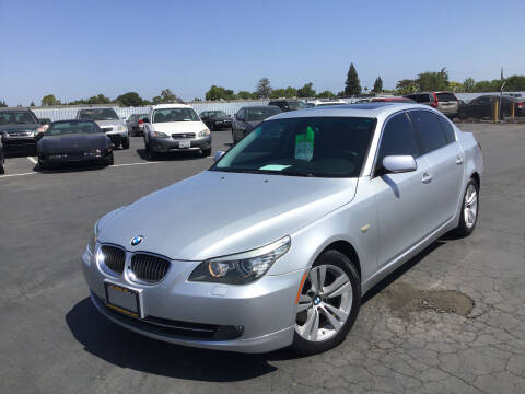 2009 BMW 5 Series for sale at My Three Sons Auto Sales in Sacramento CA