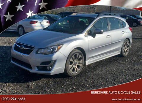 2015 Subaru Impreza for sale at Berkshire Auto & Cycle Sales in Sandy Hook CT