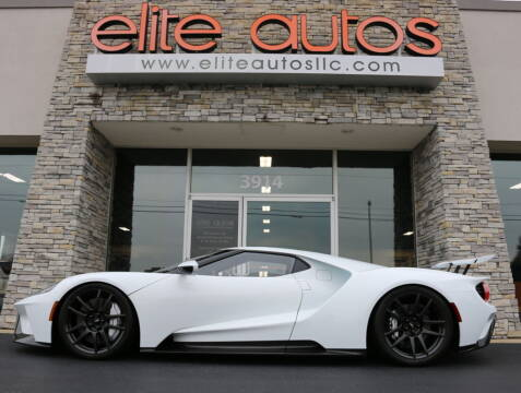 2018 Ford GT for sale at Elite Autos LLC in Jonesboro AR