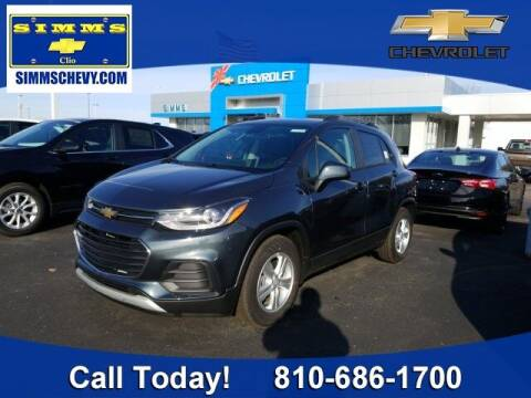 2021 Chevrolet Trax for sale at Aaron Adams @ Simms Chevrolet in Clio MI