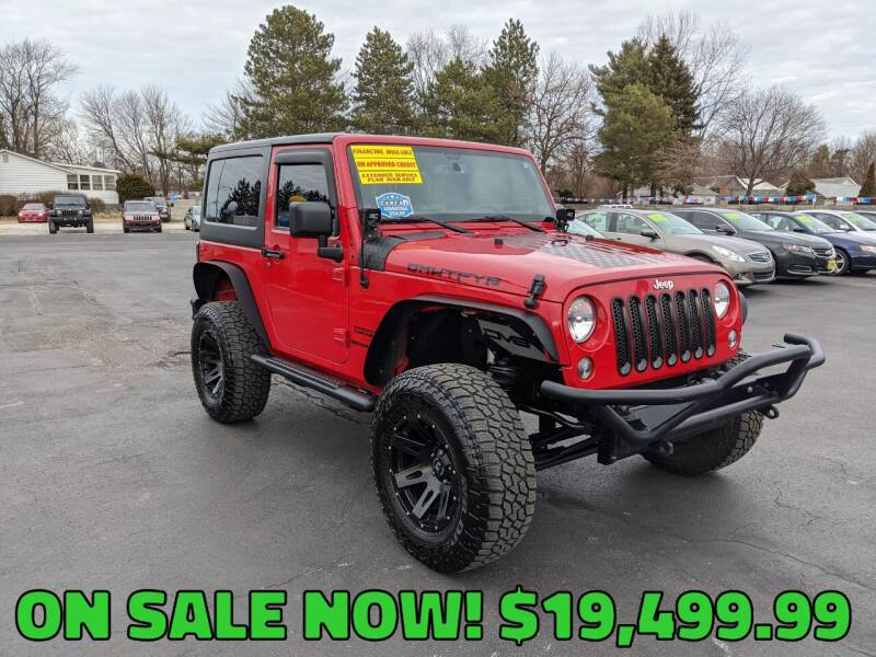 2014 Jeep Wrangler for sale at RBT Automotive LLC in Perry OH