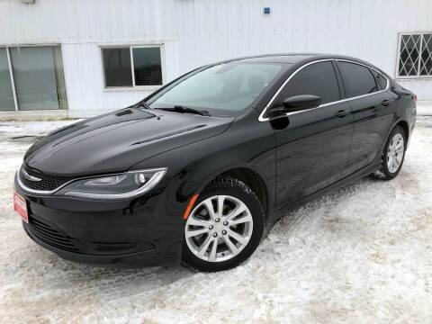 2016 Chrysler 200 for sale at STATELINE CHEVROLET BUICK GMC in Iron River MI
