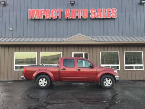 2007 Nissan Frontier for sale at Impact Auto Sales in Wenatchee WA