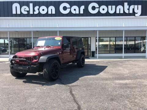 2008 Jeep Wrangler Unlimited for sale at Nelson Car Country in Bixby OK