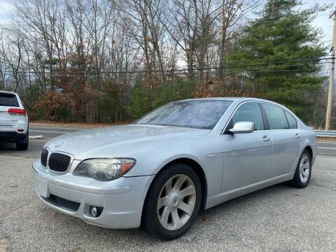 2006 BMW 7 Series for sale at Royal Crest Motors in Haverhill MA