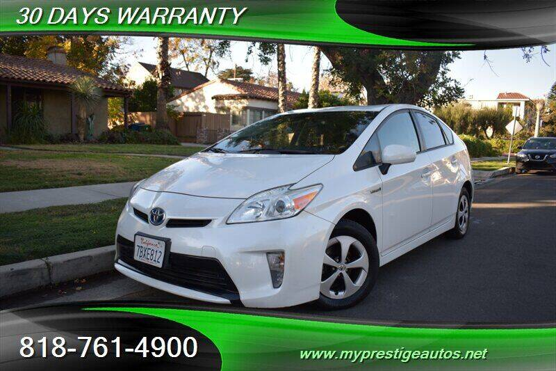 2013 Toyota Prius for sale at Prestige Auto Sports Inc in North Hollywood CA