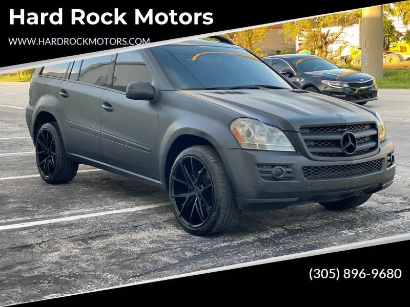 2007 Mercedes-Benz GL-Class for sale at Hard Rock Motors in Hollywood FL