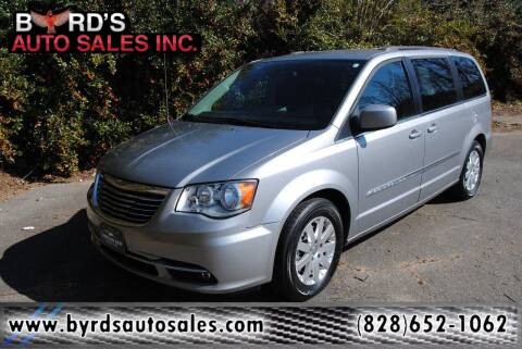 2016 Chrysler Town and Country for sale at Byrds Auto Sales in Marion NC