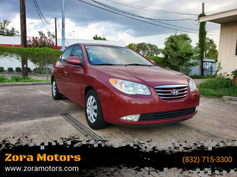 2010 Hyundai Elantra for sale at Zora Motors in Houston TX