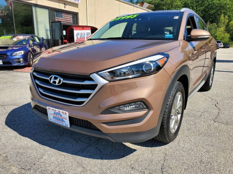 2017 Hyundai Tucson for sale at Auto Wholesalers Of Hooksett in Hooksett NH