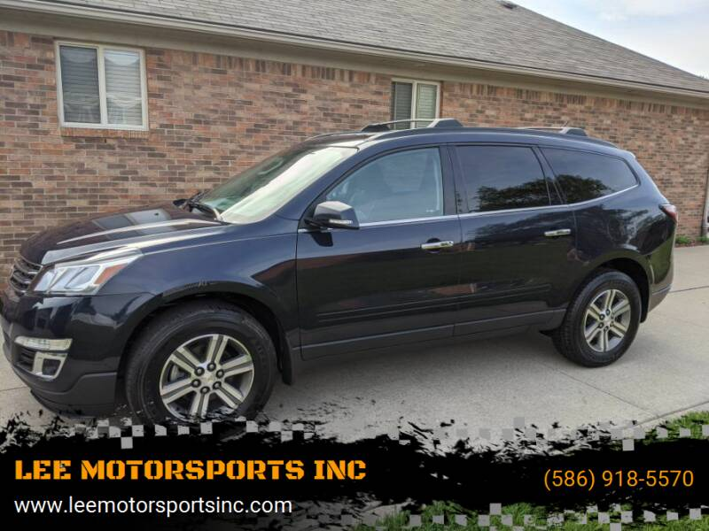 2017 Chevrolet Traverse for sale at LEE MOTORSPORTS INC in Mount Clemens MI