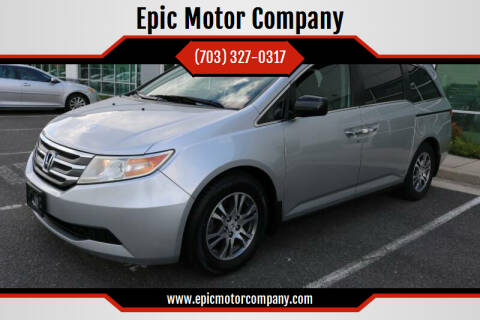 2012 Honda Odyssey for sale at Epic Motor Company in Chantilly VA