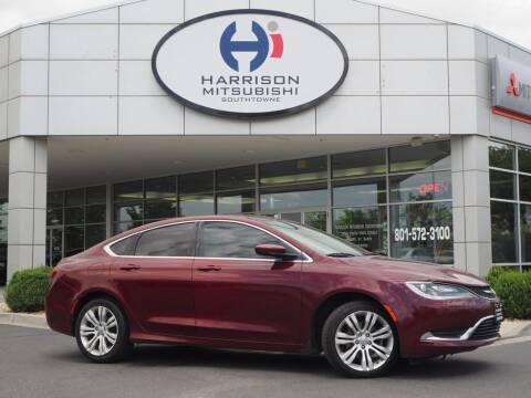 2015 Chrysler 200 for sale at Harrison Imports in Sandy UT