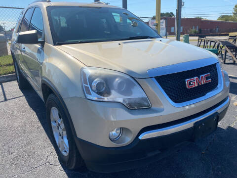 2012 GMC Acadia for sale at Aiden Motor Company in Portsmouth VA