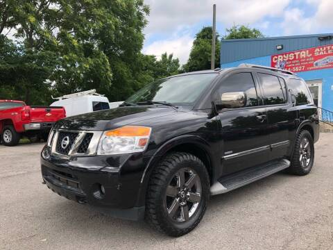 2014 Nissan Armada for sale at Crystal Auto Sales Inc in Nashville TN