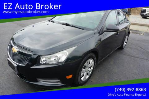 2013 Chevrolet Cruze for sale at EZ Auto Broker in Mount Vernon OH