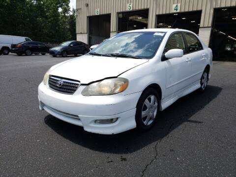 2005 Toyota Corolla for sale at E-Motorworks in Roswell GA