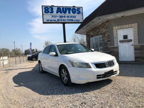 2009 Honda Accord for sale at 83 Autos in York PA