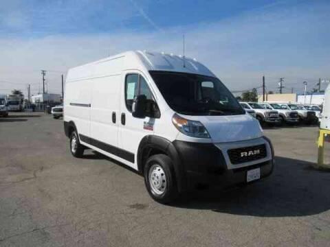 2019 RAM ProMaster Cargo for sale at Atlantis Auto Sales in La Puente CA
