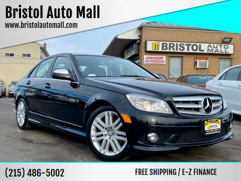 2009 Mercedes-Benz C-Class for sale at Bristol Auto Mall in Levittown PA