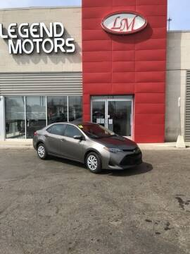 2018 Toyota Corolla for sale at Legend Motors of Detroit - Legend Motors of Ferndale in Ferndale MI