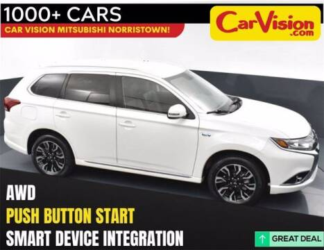 2018 Mitsubishi Outlander PHEV for sale at Car Vision Buying Center in Norristown PA