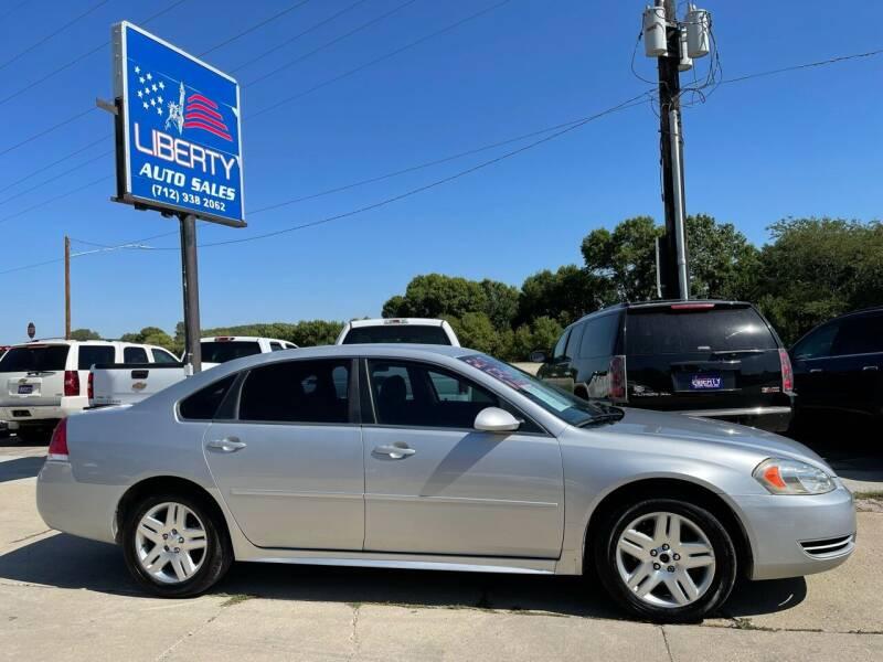 2013 Chevrolet Impala for sale at Liberty Auto Sales in Merrill IA