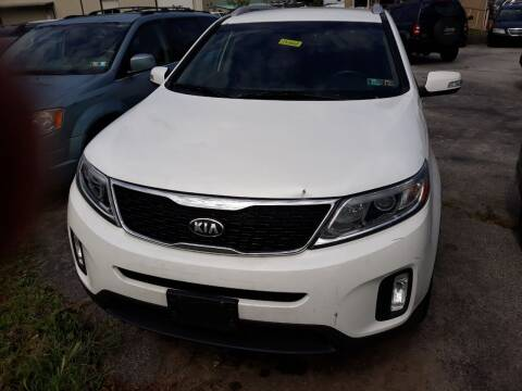 2014 Kia Sorento for sale at GALANTE AUTO SALES LLC in Aston PA