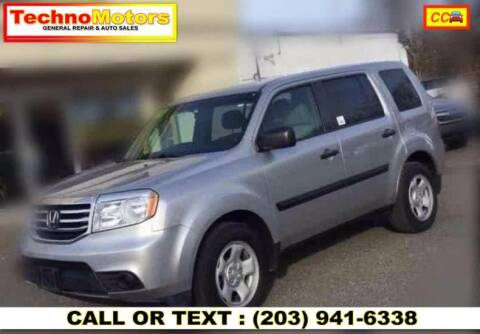 2013 Honda Pilot for sale at Techno Motors in Danbury CT