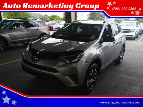 2016 Toyota RAV4 for sale at Auto Remarketing Group in Pompano Beach FL