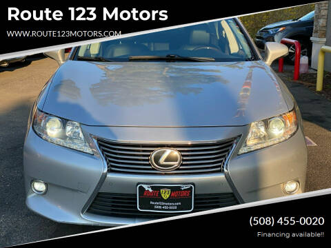 2014 Lexus ES 350 for sale at Route 123 Motors in Norton MA