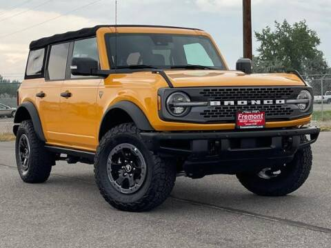 2021 Ford Bronco for sale at Rocky Mountain Commercial Trucks in Casper WY