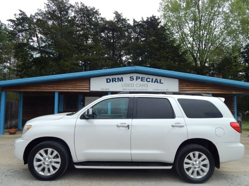 2008 Toyota Sequoia for sale at DRM Special Used Cars in Starkville MS