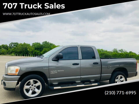 2006 Dodge Ram Pickup 1500 for sale at 707 Truck Sales in San Antonio TX