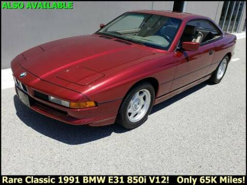 1991 BMW 8 Series for sale at Classic Car Deals in Cadillac MI