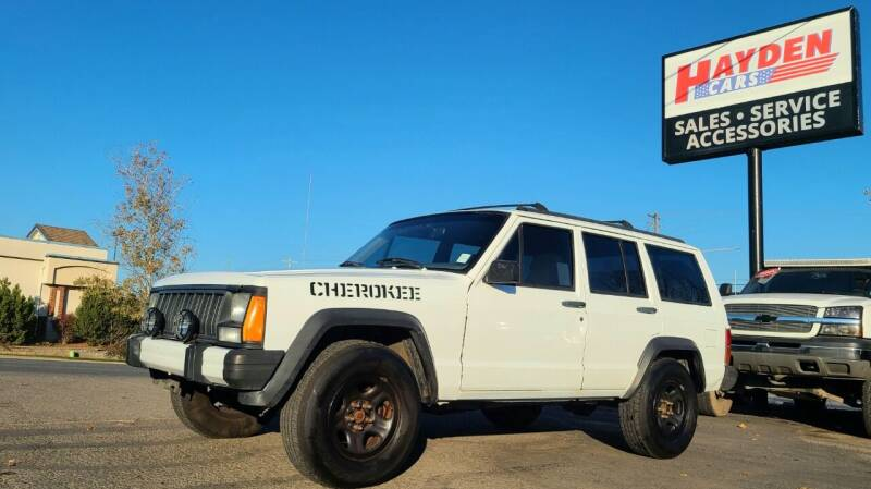 1995 Jeep Cherokee for sale at Hayden Cars in Coeur D Alene ID