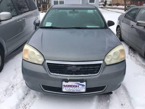 2007 Chevrolet Malibu for sale at Gordon Auto Sales LLC in Sioux City IA
