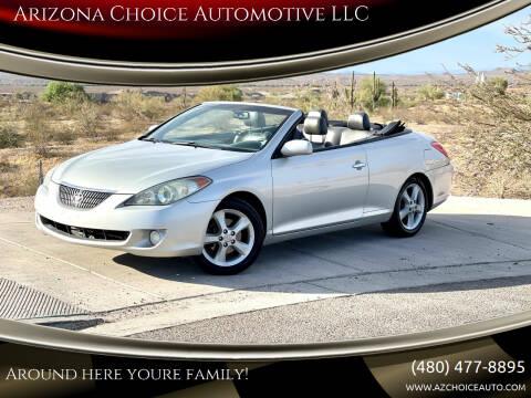 2006 Toyota Camry Solara for sale at Arizona Choice Automotive LLC in Mesa AZ