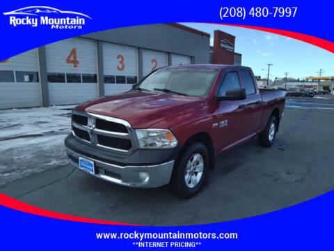 2015 RAM Ram Pickup 1500 for sale at Rocky Mountain Motors in Idaho Falls ID