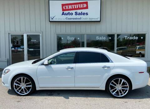 2009 Chevrolet Malibu for sale at Certified Auto Sales in Des Moines IA